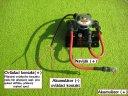 Elektrický odpojovač akumulátoru  12 V